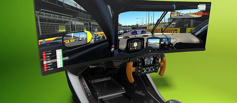 AMR-C01 Racing Simulator Cockpit
