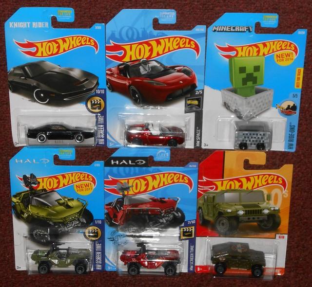 Hot Wheels - TV & Movie Cars