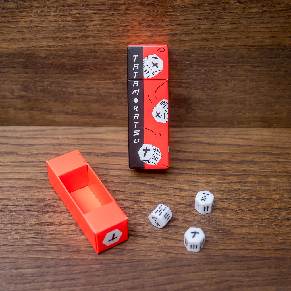 Tatamokatsu boardgame juego de mesa