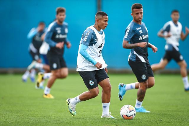Treino Grêmio 14/09/2020