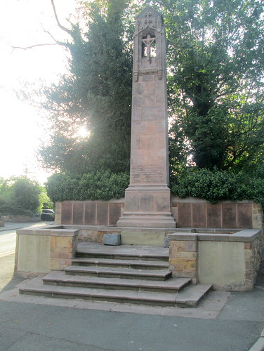 War Memorial, Hawarden, North Wales