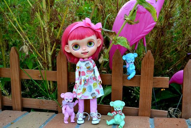Cutie Patootie in the Garden