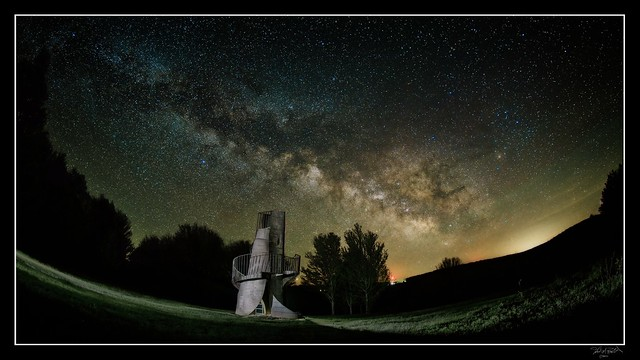 200522 Milky Way over Griffis - color (Flickr)