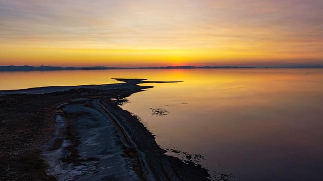Sunset over Lady Finger Point