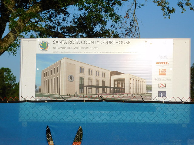 New Santa Rosa County Courthouse Image