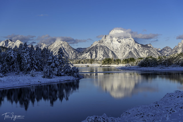 Oxbow Bend after recent snow