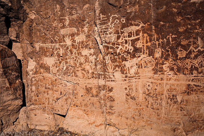 Big Panel of Petroglyphs