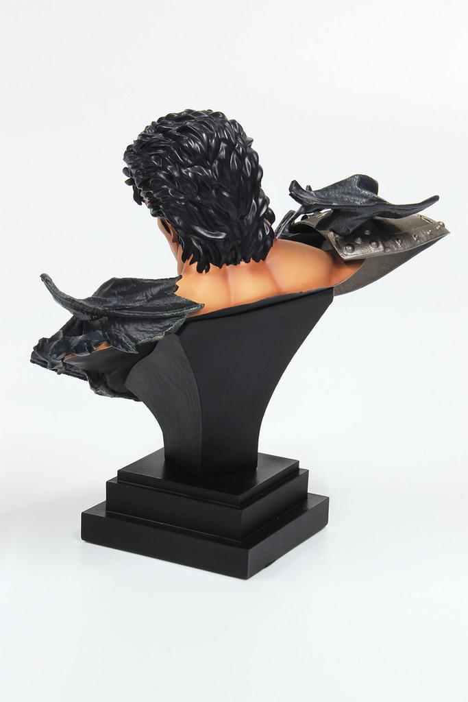 模型王x海洋堂《北斗神拳》拳四郎 & 拉歐 終極胸像 精緻尺寸展現瀟灑霸氣!