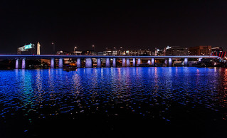I-395 bridge at night | by eschweik