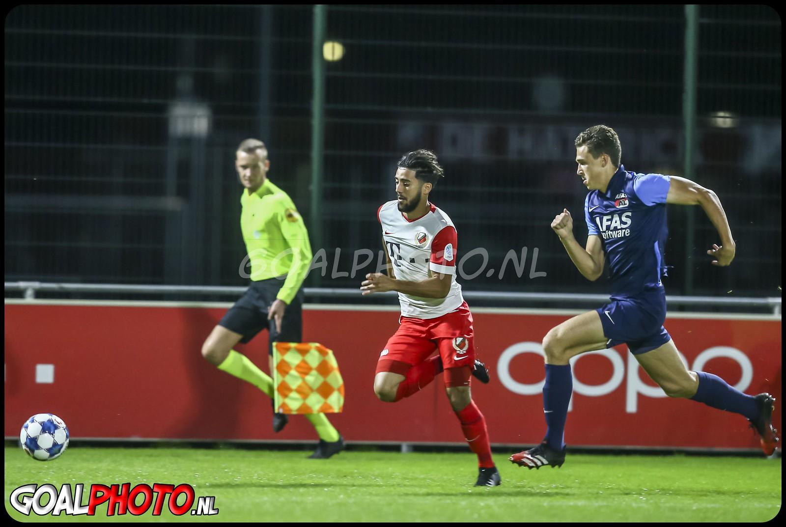 Jong FC Utrecht - Jong AZ 14-09-2020