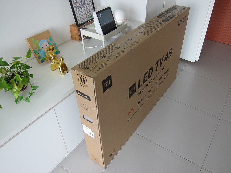 Xiaomi Mi LED TV 4S 55 - Box