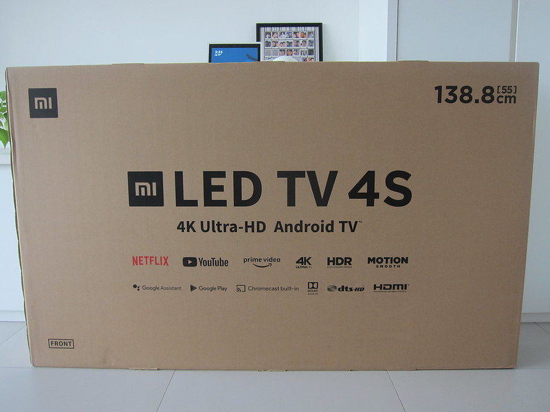 Xiaomi Mi LED TV 4S 55 - Box Front