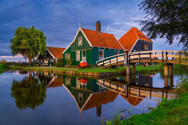 Zaanse Schans Village, North Holland
