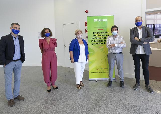 10/09/2020 - Comienza la II edición del Máster en Intervención con Personas en situación de Vulnerabilidad y Exclusión Social