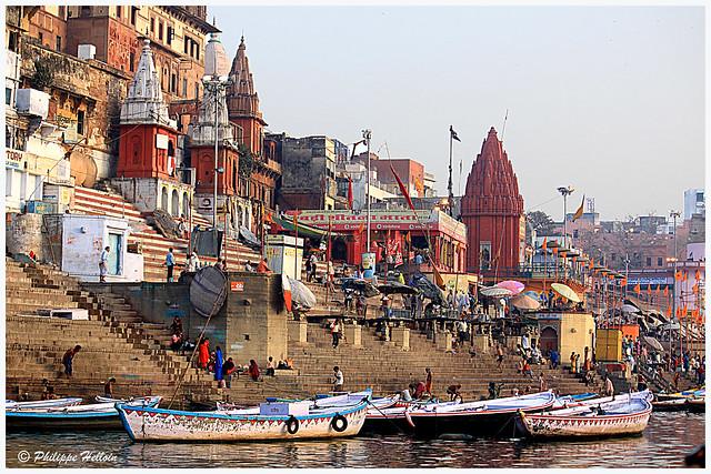 3   les Ghats de Varanasi