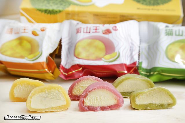 mooncake mochi close up