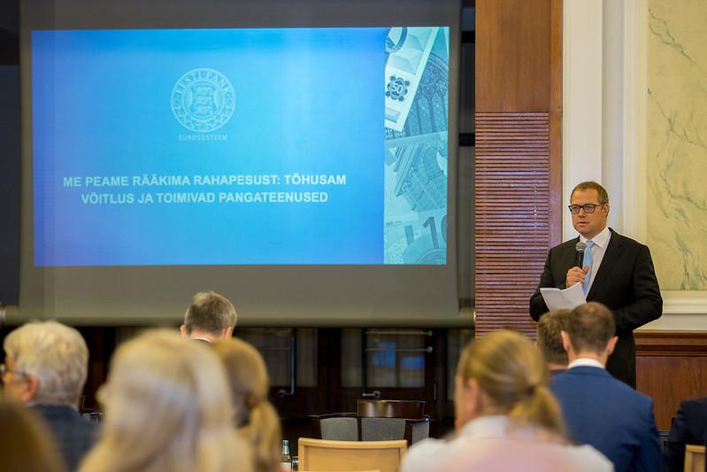 Seminar rahapesu tõkestamise ja pangateenuste kättesaadavuse teemadel