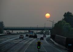 Smoky Sundown Freeway
