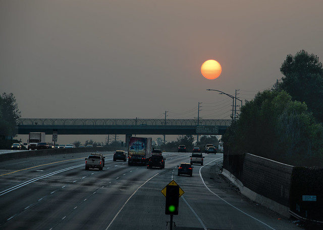 Smoky Sundown Freeway