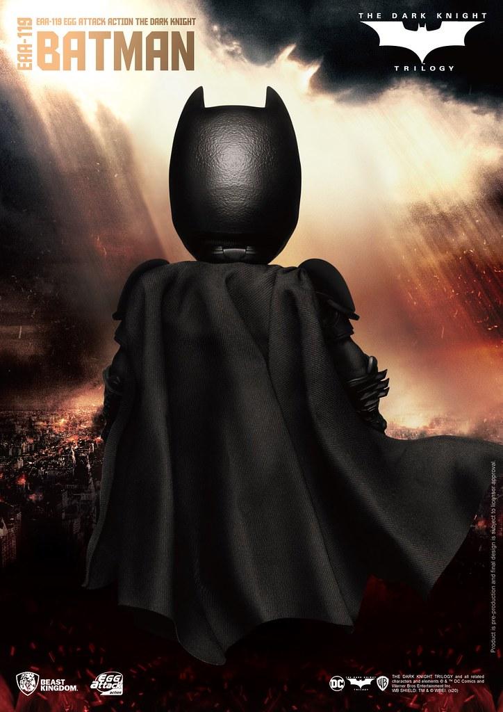 野獸國 EAA系列《黑暗騎士》蝙蝠俠 6吋可動人偶 一般版/豪華版
