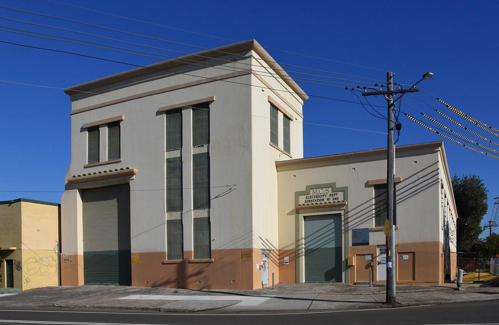 Electricity Substation No 340, Botany, Sydney, NSW. 1