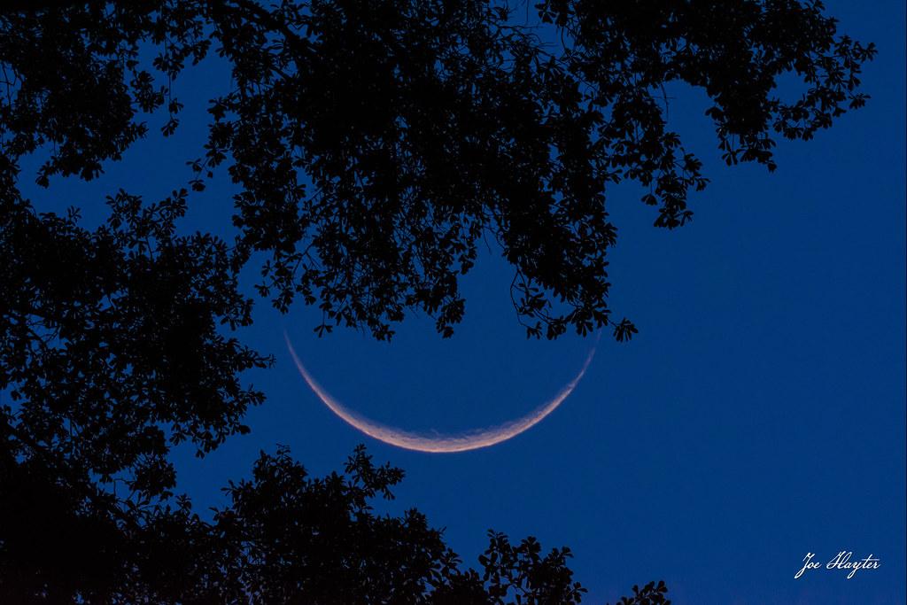 5.5% Illuminated Waning Crescent Moon