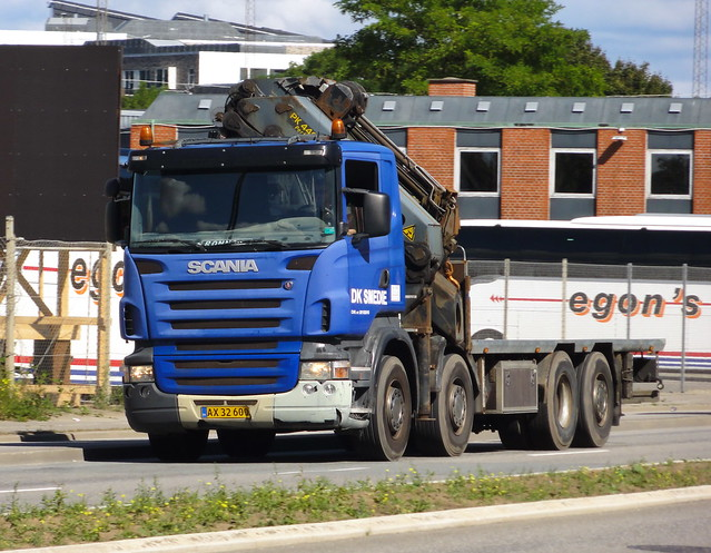 2006 Scania R420 AX32600 still at work looking its age