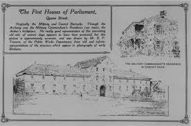 Parliament in Convict Barracks