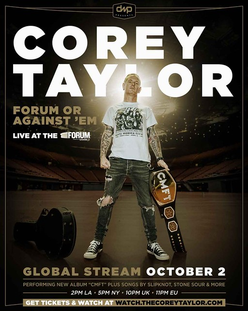 Corey Taylor Announces 'Forum Or Against 'Em' Global Streaming Event