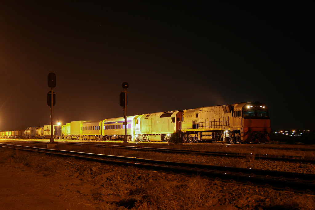 Night shift at Spencer Junction by David Arnold