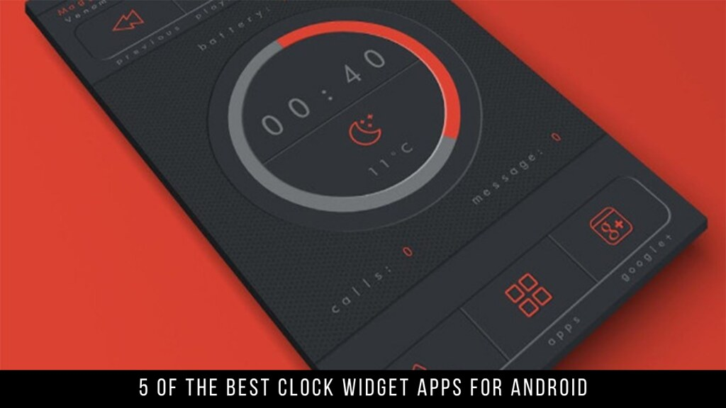 5 Of The Best Clock Widget Apps For Android