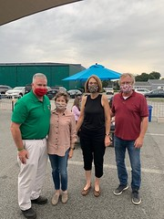I was delighted to attend the fundraiser for the Brian Dagle Foundation last night, along with State Senator Paul Formica. Ann and Paul Dagle have worked tirelessly for the cause of suicide prevention and awareness. Thank you to Jenny and Todd Sakowski of Niantic Public House and Olivia Formica and all from Flanders Fish  Market for their support. September is Suicide Prevention Month so this event is so timely. Now, more than ever, we need to make sure we watch out for one another and act to provide resources and save lives.