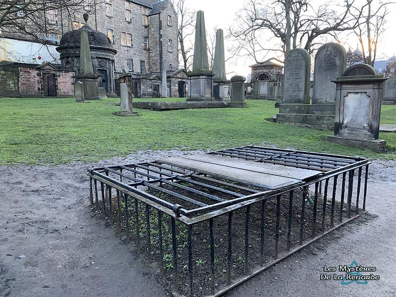 Cimetière Edimbourg