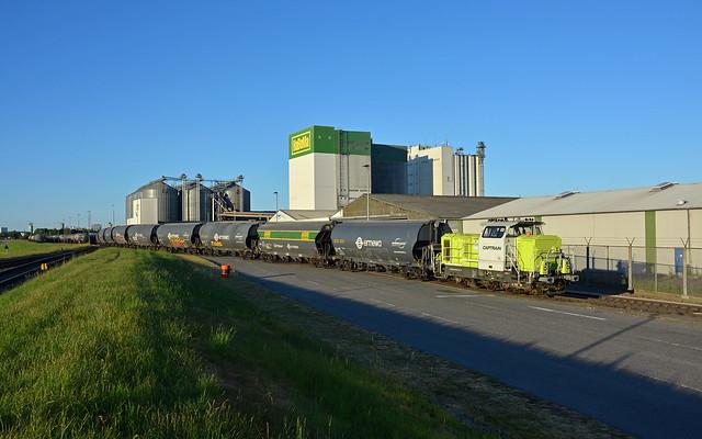 Captrain CargoWest 0650 092-6 - Hamburg-Hohe Schaar