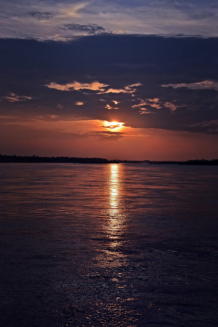 Lighting the ripples. (Explored)