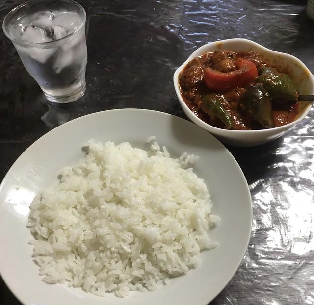 チキンと夏野菜のスパイスカレー!