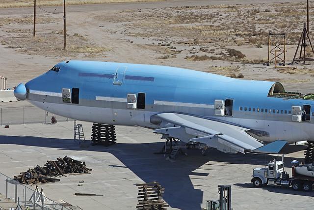 N396KA, Boeing 747-400, Korean Air, Pinal Airpark - Arizona