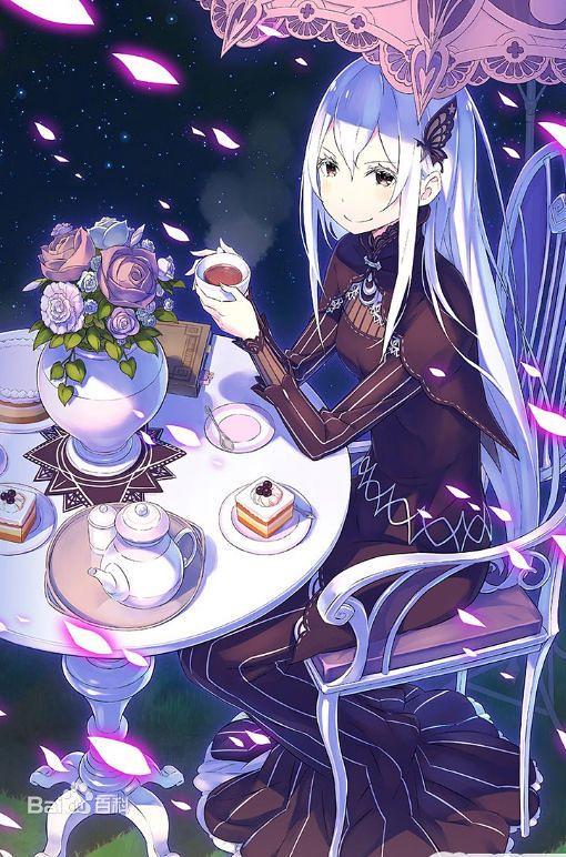 KDcolle《Re:從零開始的異世界生活》艾姬多娜 茶會Ver. 你也想來杯多娜茶嗎?
