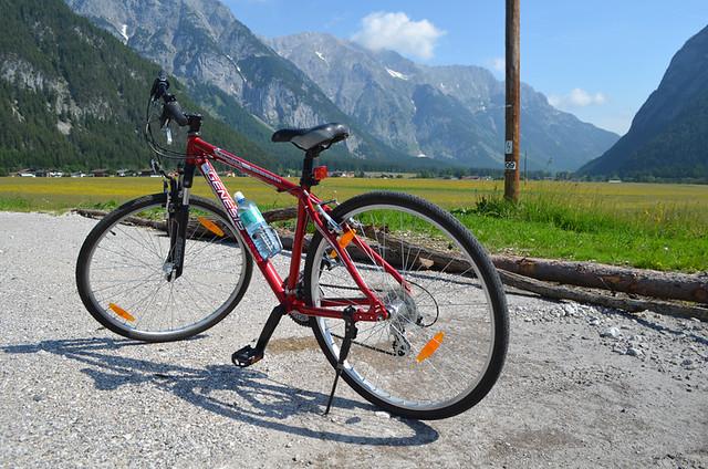 Cycle, Leutasch, Austria