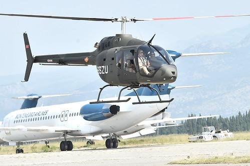 Svečana ceremonija dolaska helikoptera Bell 505 Jet Ranger X
