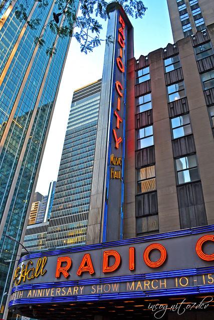 Radio City Music Hall 50th St Rockefeller Center RCMH 6th Ave Avenue of the Americas Midtown Manhattan New York City NY P00651 DSC_9613