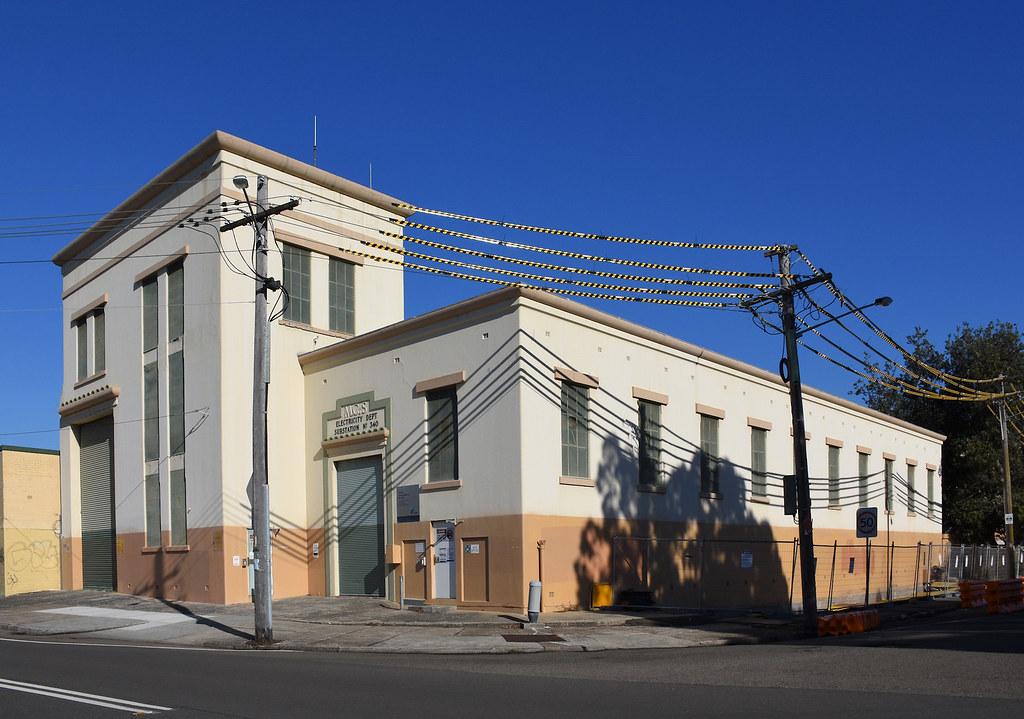 Electricity Substation No 340, Botany, Sydney, NSW.