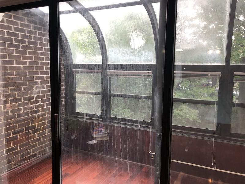 Ugly sunroom windows