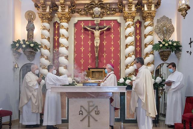 Dedicación del Templo de la Parroquia de Beniferri. Septiembre 2020.