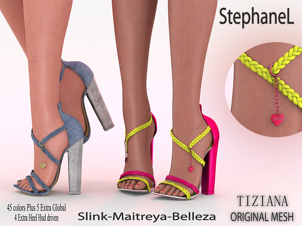 [StephaneL] TIZIANA SHOES FATPACK