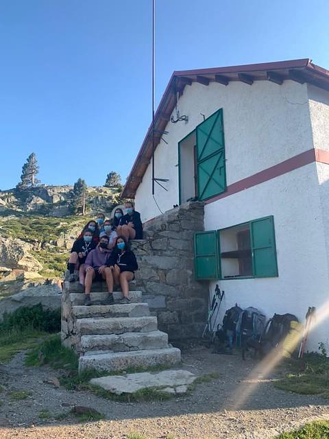 Mariona, Jan, Aida, Martina, Marta, Meritxell, Laia i Sara - Refugi de Certascan