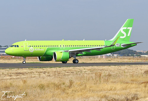 F-WWDT Airbus A320 Neo S7 | by @Eurospot