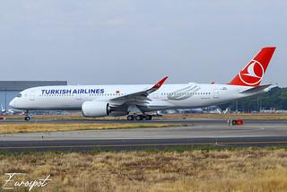 F-WZGZ Airbus A350 Turkish