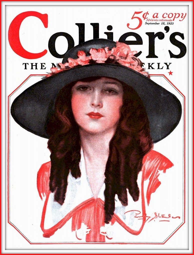 1923 September 15, - Cover - Collier's - art by Penrhyn Stanlaws