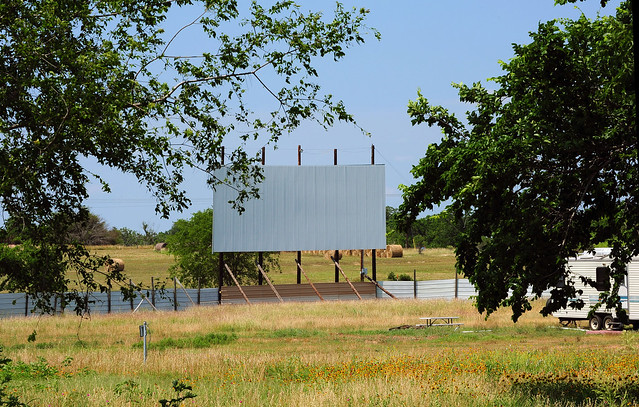 Drive-In Theater Remains - Lavaca County, Texas
